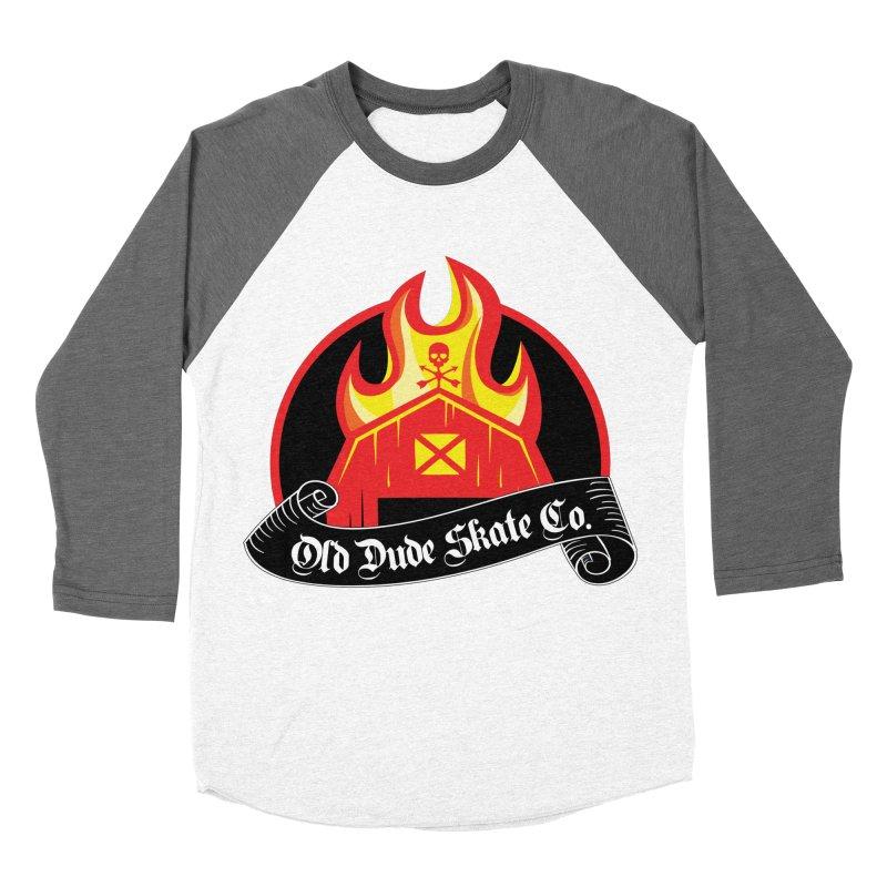 ODS Barn Burner Women's Baseball Triblend T-Shirt by Drew's Barn Burner Shop