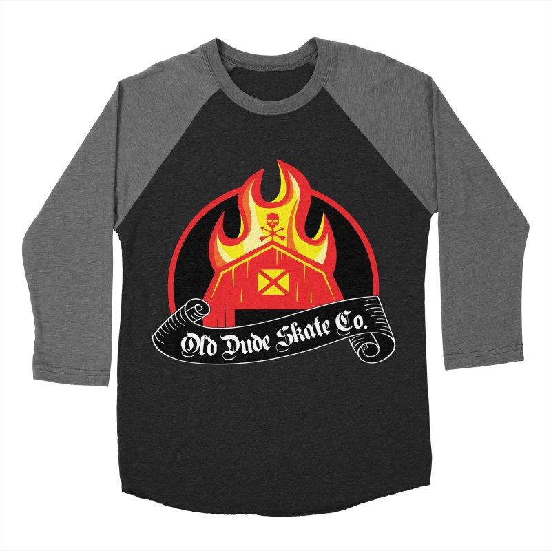 ODS Barn Burner Women's Baseball Triblend Longsleeve T-Shirt by Drew's Barn Burner Shop