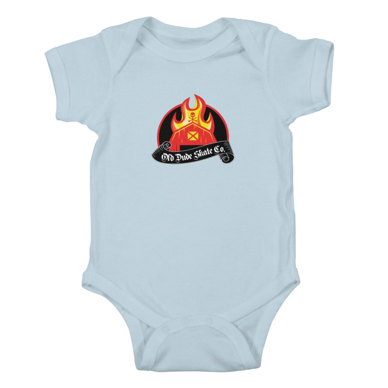 ODS Barn Burner Kids Baby Bodysuit by Drew's Barn Burner Shop