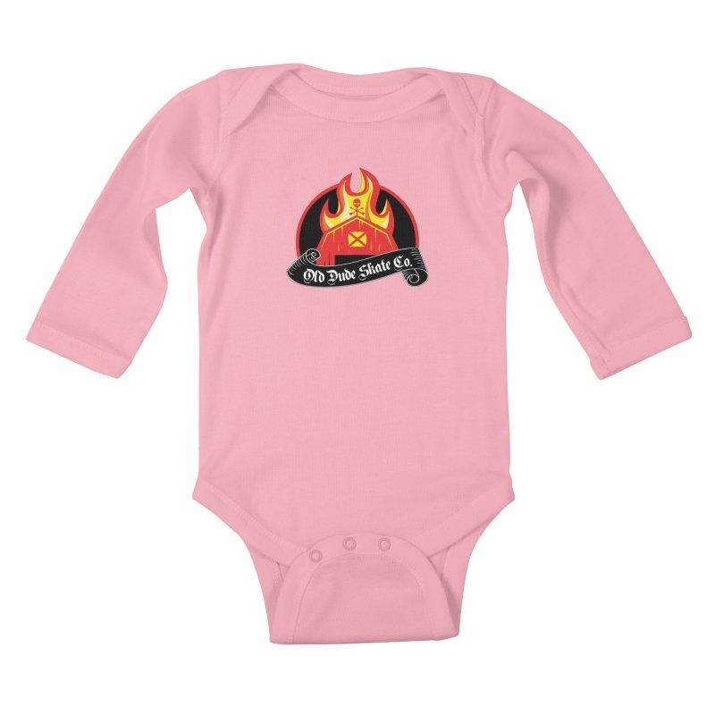 ODS Barn Burner Kids Baby Longsleeve Bodysuit by Drew's Barn Burner Shop