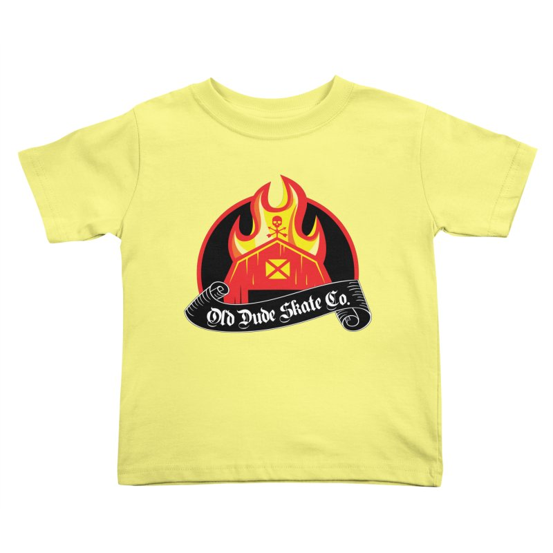 ODS Barn Burner Kids Toddler T-Shirt by Drew's Barn Burner Shop