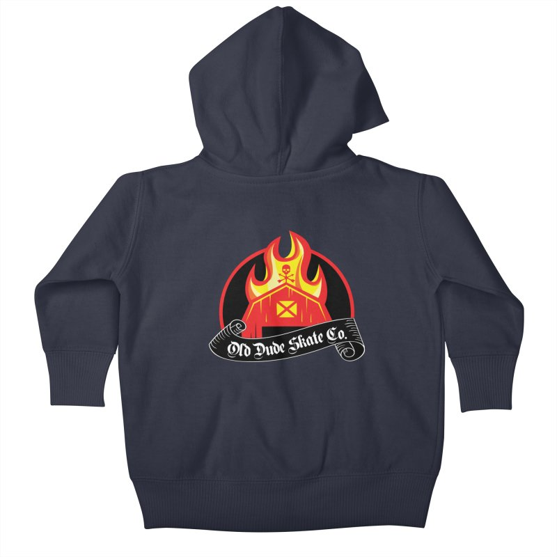 ODS Barn Burner Kids Baby Zip-Up Hoody by Drew's Barn Burner Shop