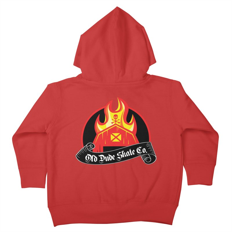 ODS Barn Burner Kids Toddler Zip-Up Hoody by Drew's Barn Burner Shop