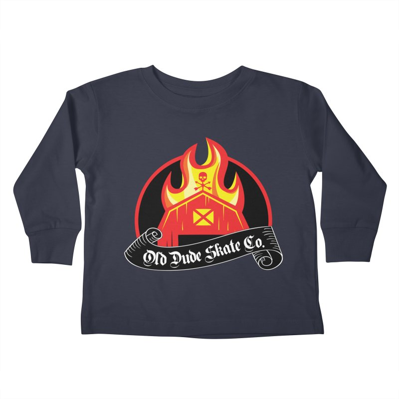 ODS Barn Burner Kids Toddler Longsleeve T-Shirt by Drew's Barn Burner Shop