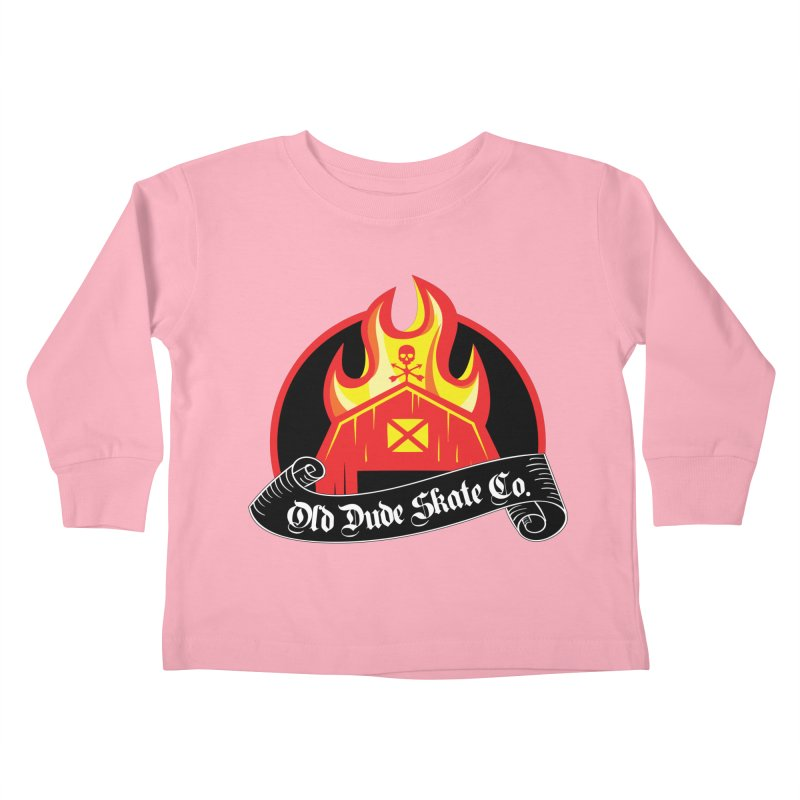 ODS Barn Burner Kids Toddler Longsleeve T-Shirt by Drew's Barn Burner Shop