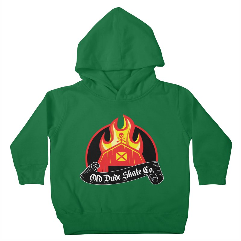 ODS Barn Burner Kids Toddler Pullover Hoody by Drew's Barn Burner Shop