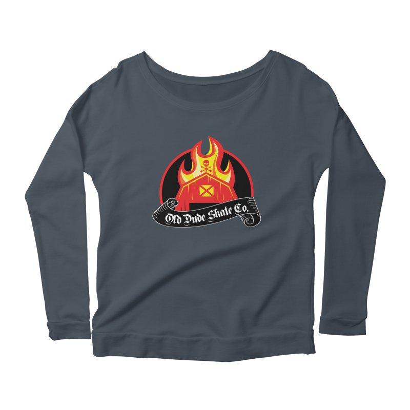 ODS Barn Burner Women's Scoop Neck Longsleeve T-Shirt by Drew's Barn Burner Shop