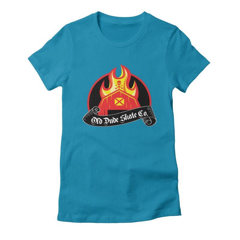 ODS Barn Burner Women's Fitted T-Shirt by Drew's Barn Burner Shop