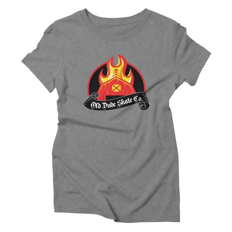 ODS Barn Burner Women's Triblend T-Shirt by Drew's Barn Burner Shop