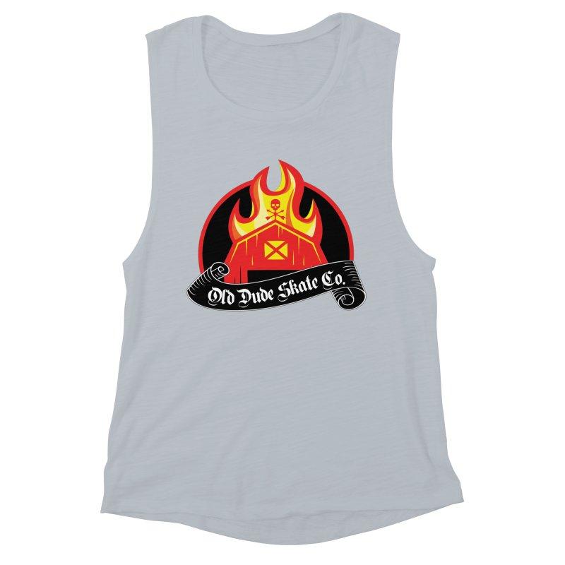 ODS Barn Burner Women's Muscle Tank by Drew's Barn Burner Shop