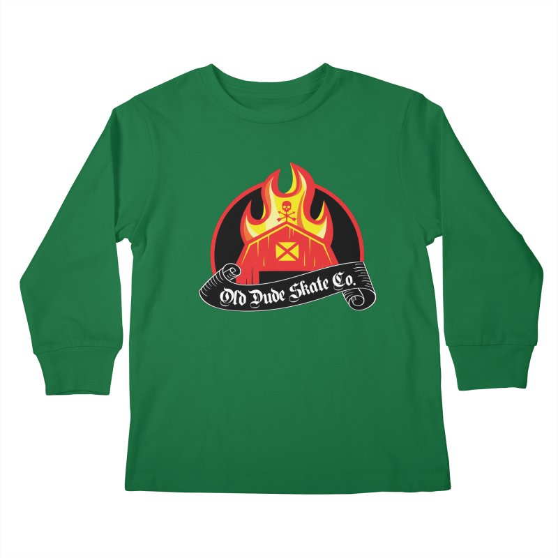 ODS Barn Burner Kids Longsleeve T-Shirt by Drew's Barn Burner Shop