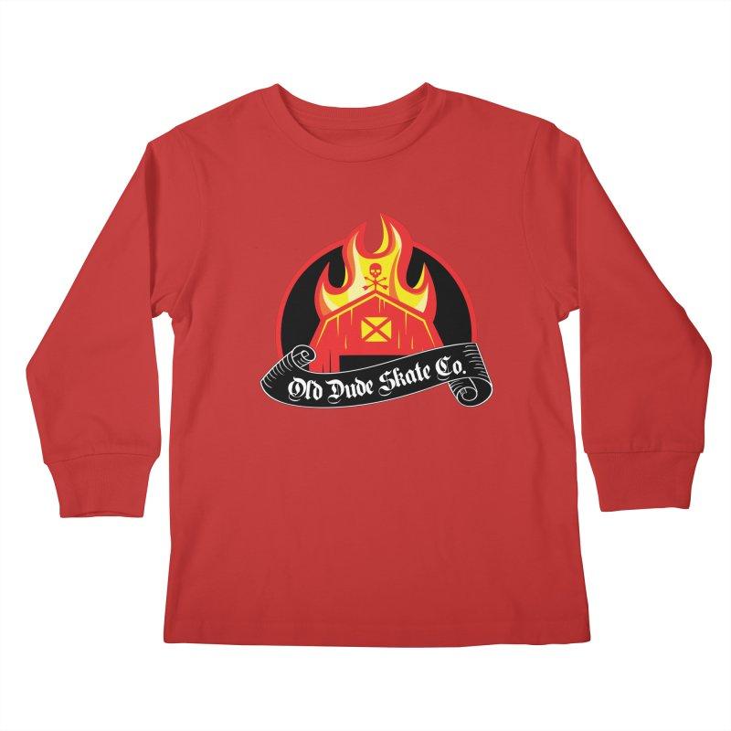ODS Barn Burner Kids Longsleeve T-Shirt by Drew's Barn Burner Shop