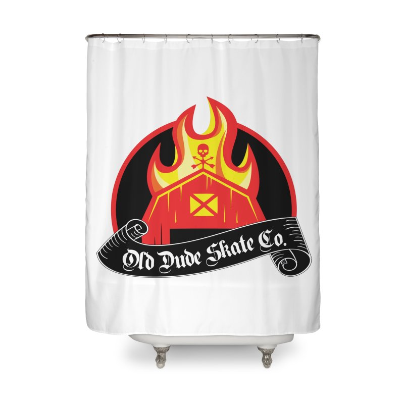 ODS Barn Burner Home Shower Curtain by Drew's Barn Burner Shop