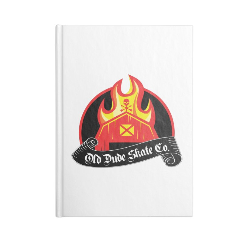 ODS Barn Burner Accessories Blank Journal Notebook by Drew's Barn Burner Shop