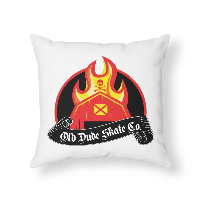 ODS Barn Burner Home Throw Pillow by Drew's Barn Burner Shop