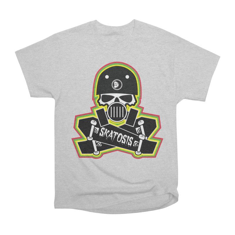 SKATOSIS Men's T-Shirt by Drew's Barn Burner Shop