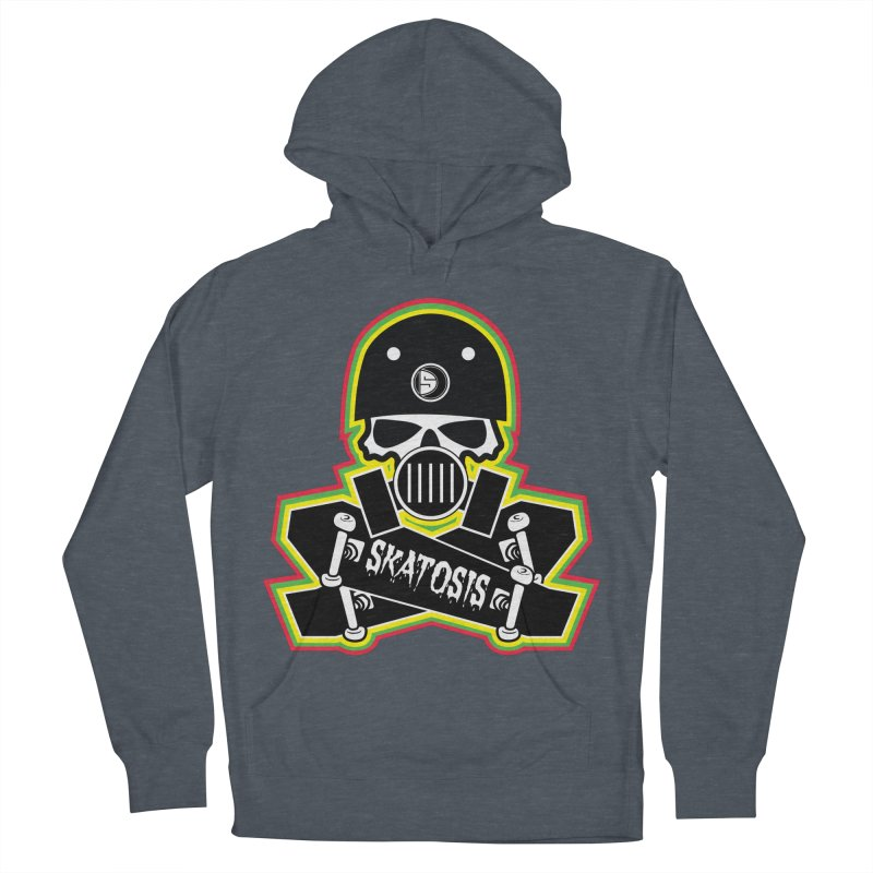 SKATOSIS Men's French Terry Pullover Hoody by Drew's Barn Burner Shop