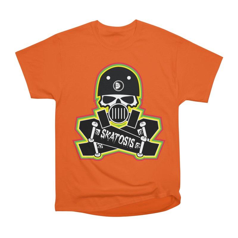 SKATOSIS Women's Heavyweight Unisex T-Shirt by Drew's Barn Burner Shop