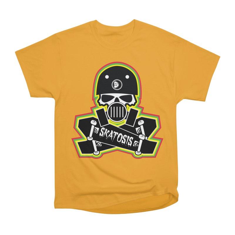 SKATOSIS Men's Heavyweight T-Shirt by Drew's Barn Burner Shop