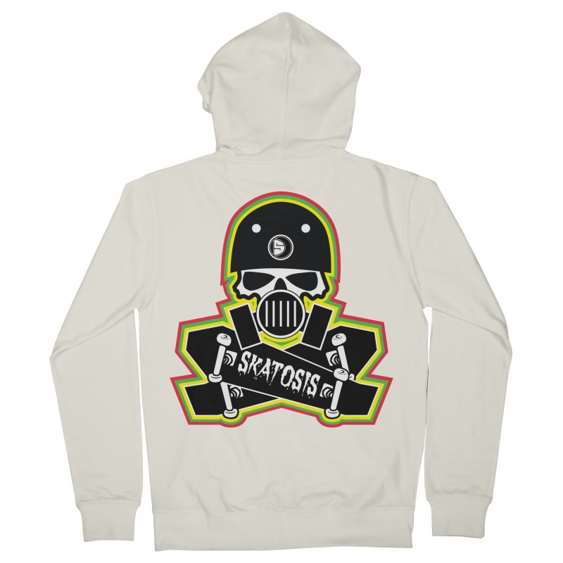 SKATOSIS Men's Zip-Up Hoody by Drew's Barn Burner Shop