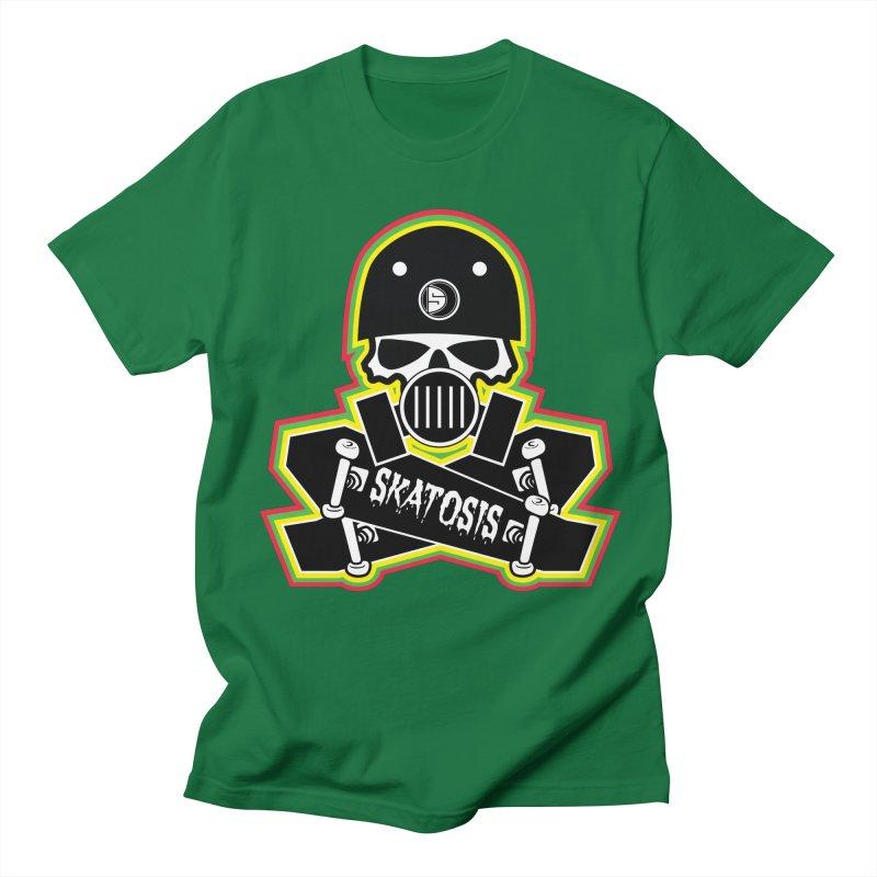 SKATOSIS Women's Regular Unisex T-Shirt by Drew's Barn Burner Shop
