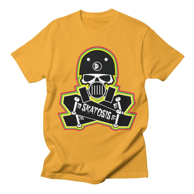SKATOSIS Men's Regular T-Shirt by Drew's Barn Burner Shop