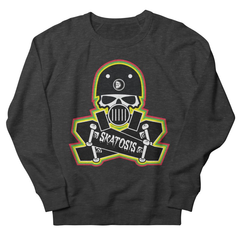 SKATOSIS Men's French Terry Sweatshirt by Drew's Barn Burner Shop