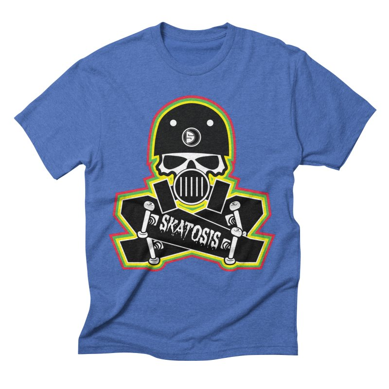 SKATOSIS Men's Triblend T-Shirt by Drew's Barn Burner Shop