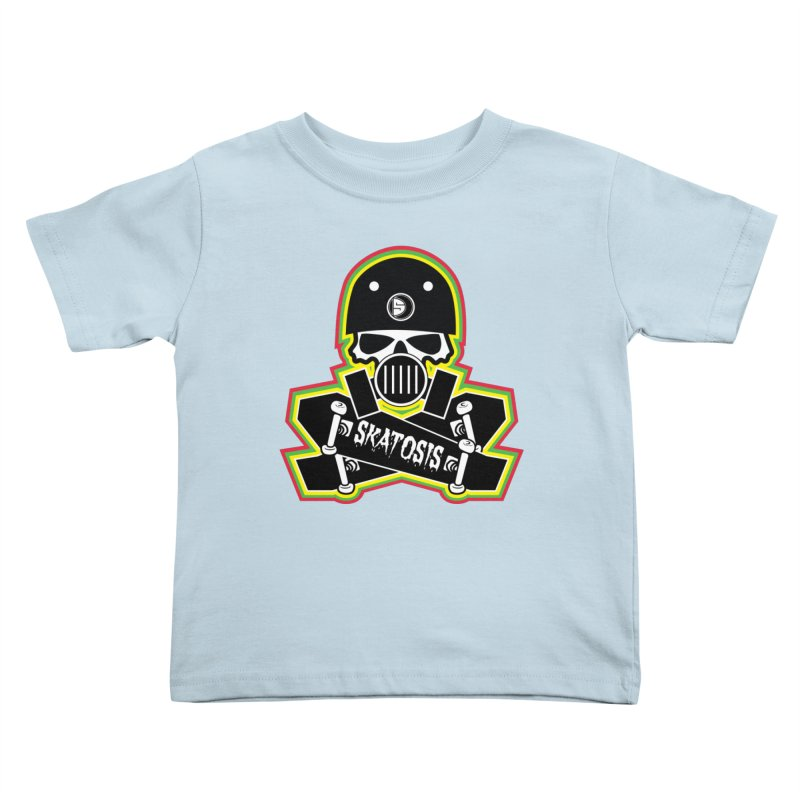 SKATOSIS Kids Toddler T-Shirt by Drew's Barn Burner Shop