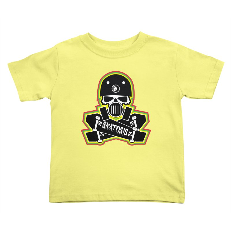 SKATOSIS Kids Toddler T-Shirt by Drew's Barn Burner Shop