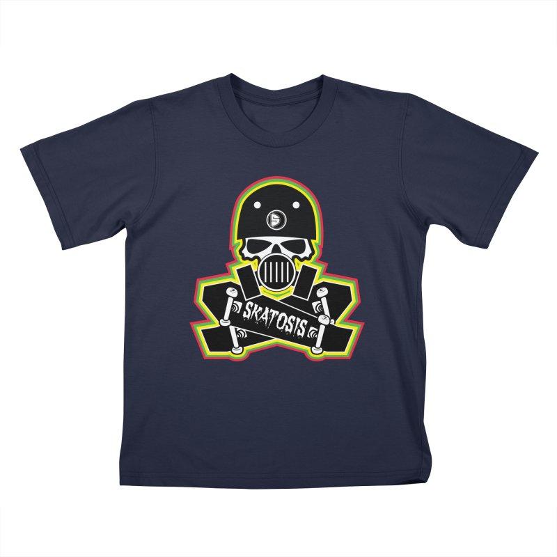 SKATOSIS Kids T-Shirt by Drew's Barn Burner Shop
