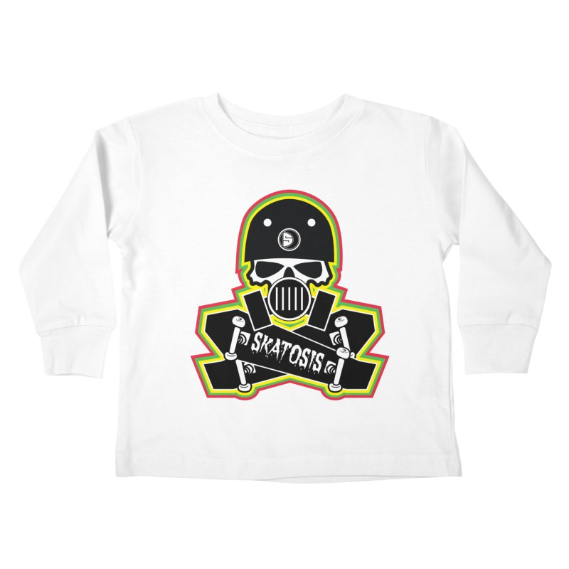 SKATOSIS Kids Toddler Longsleeve T-Shirt by Drew's Barn Burner Shop