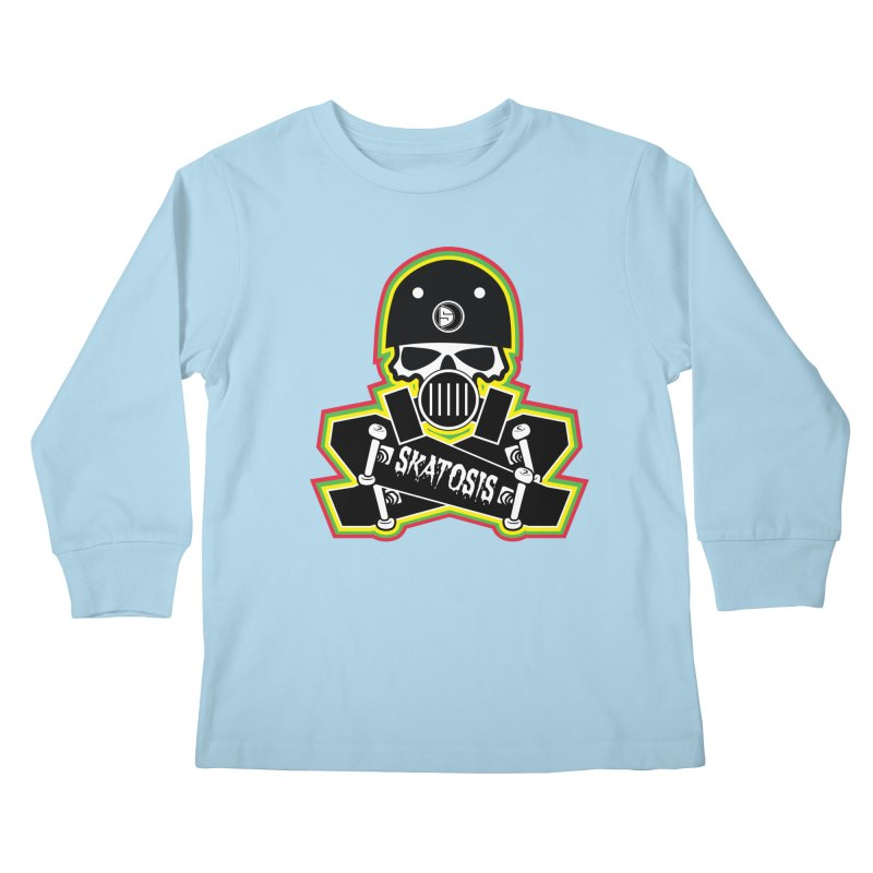 SKATOSIS Kids Longsleeve T-Shirt by Drew's Barn Burner Shop