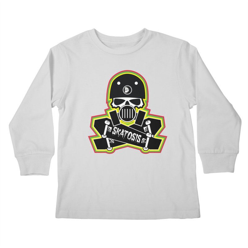 SKATOSIS Kids Longsleeve T-Shirt by Drew's Barn Burner Shop