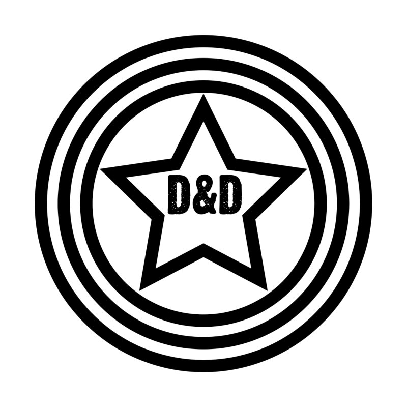 D&D - Dawn & Drew Star logo   by Drew's Barn Burner Shop
