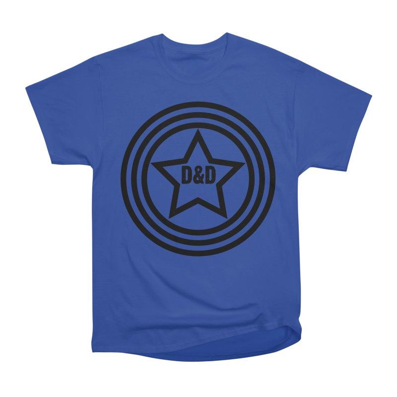 D&D - Dawn & Drew Star logo Men's Heavyweight T-Shirt by Drew's Barn Burner Shop