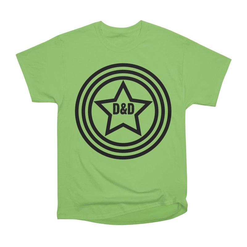 D&D - Dawn & Drew Star logo Women's Heavyweight Unisex T-Shirt by Drew's Barn Burner Shop