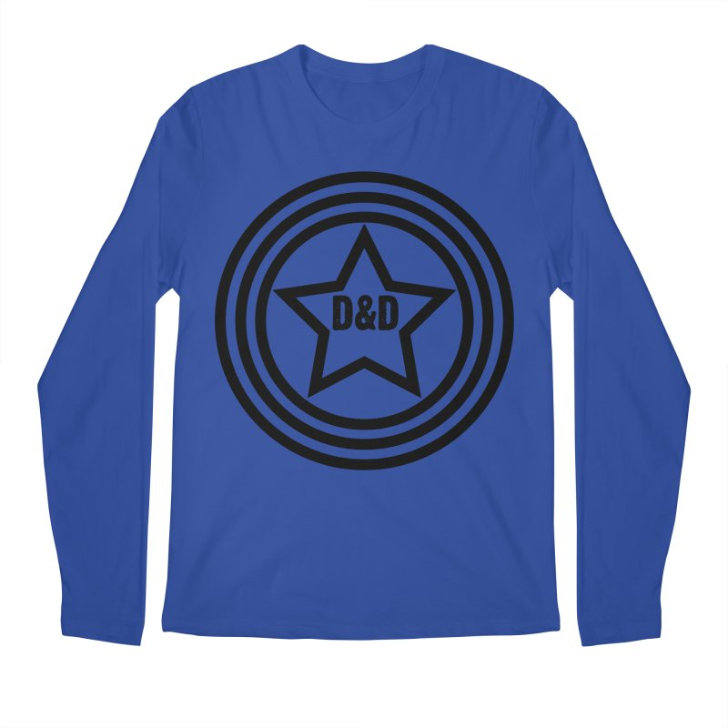 D&D - Dawn & Drew Star logo Men's Regular Longsleeve T-Shirt by Drew's Barn Burner Shop