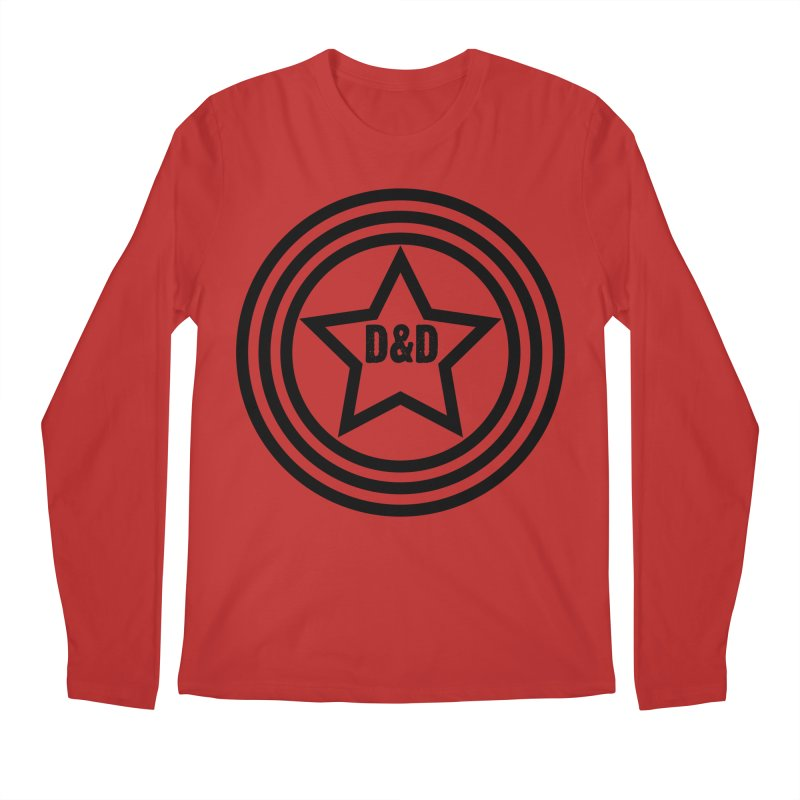 D&D - Dawn & Drew Star logo Men's Regular Longsleeve T-Shirt by Drew's Barn Burner Shop