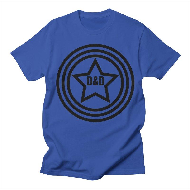 D&D - Dawn & Drew Star logo Men's T-Shirt by Drew's Barn Burner Shop