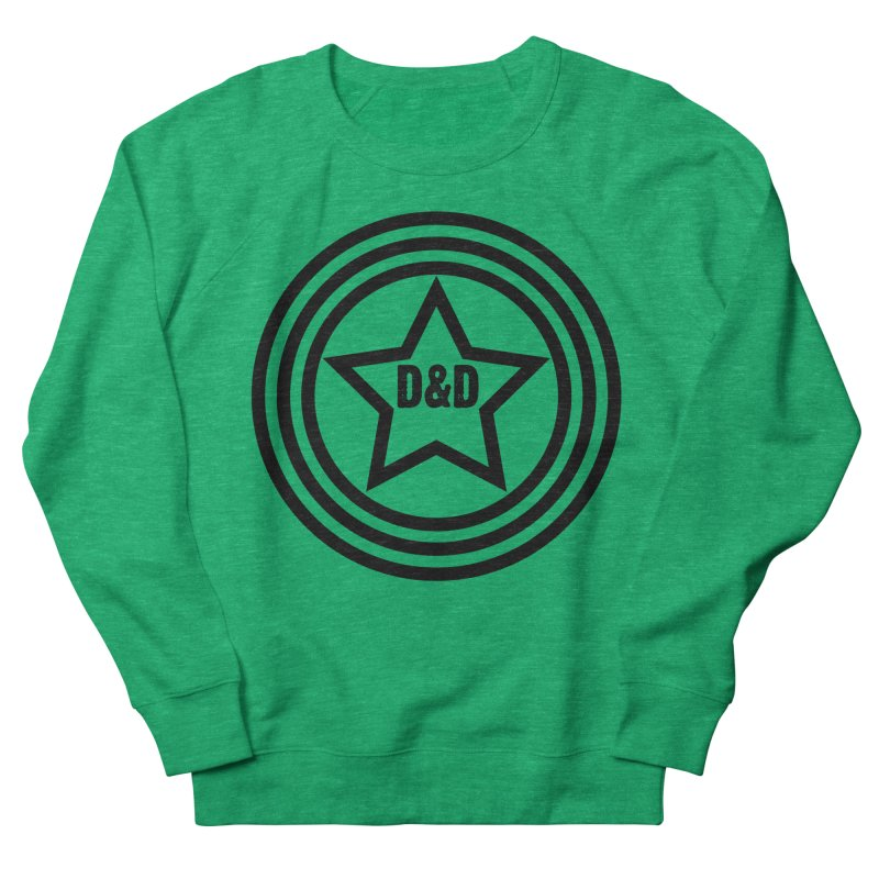 D&D - Dawn & Drew Star logo Women's French Terry Sweatshirt by Drew's Barn Burner Shop