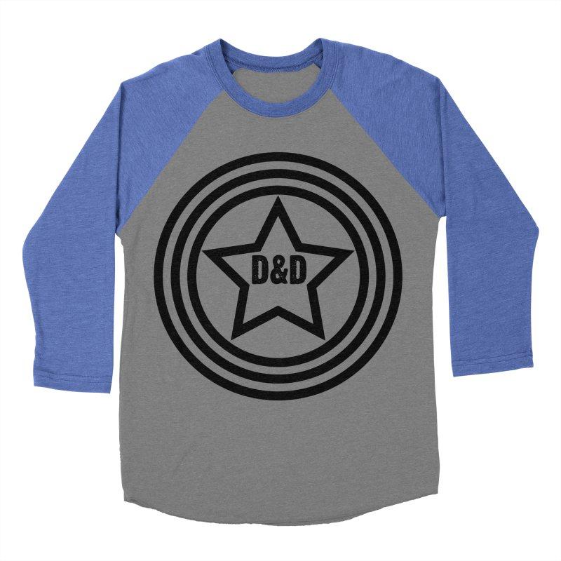 D&D - Dawn & Drew Star logo Women's Baseball Triblend Longsleeve T-Shirt by Drew's Barn Burner Shop