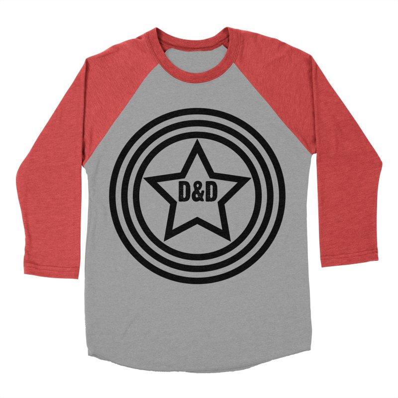 D&D - Dawn & Drew Star logo Women's Baseball Triblend T-Shirt by Drew's Barn Burner Shop