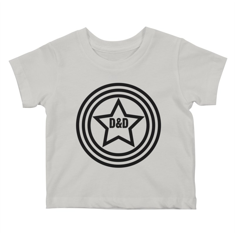 D&D - Dawn & Drew Star logo Kids Baby T-Shirt by Drew's Barn Burner Shop