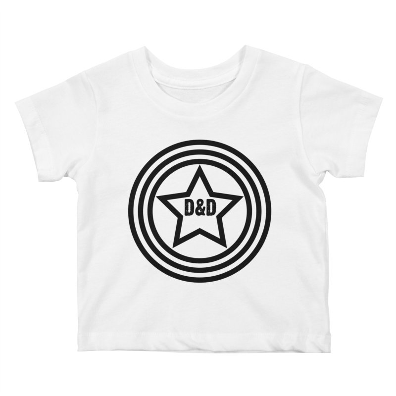 D&D - Dawn & Drew Star logo Kids Baby T-Shirt by Drew's Barn Burner Shop