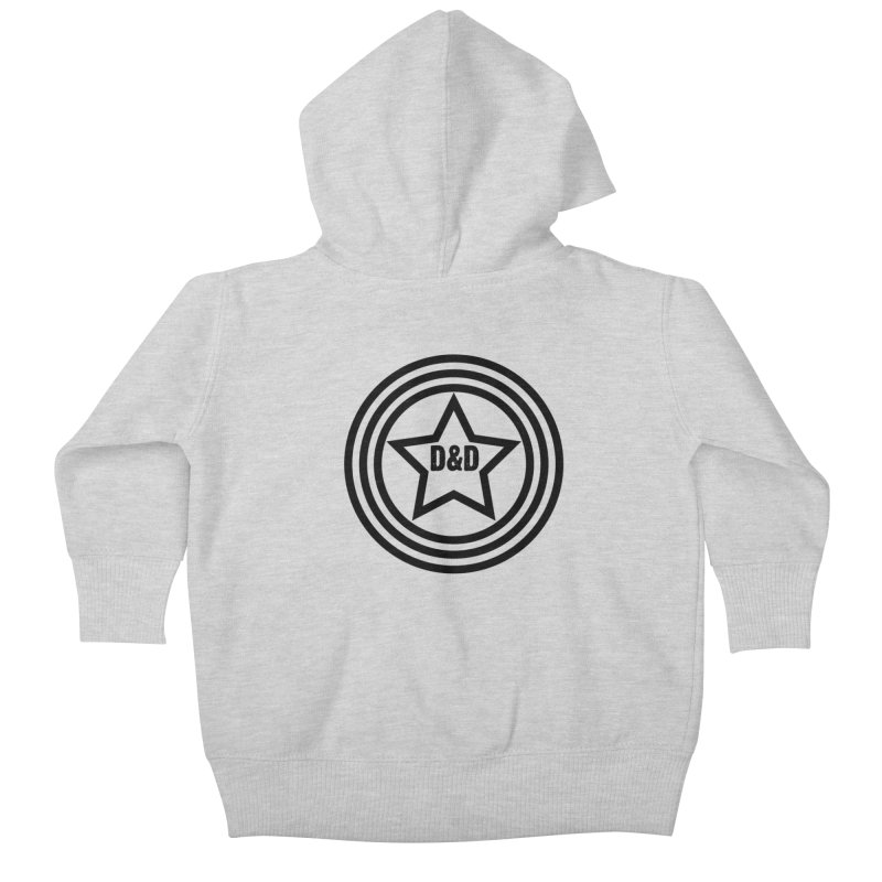 D&D - Dawn & Drew Star logo Kids Baby Zip-Up Hoody by Drew's Barn Burner Shop