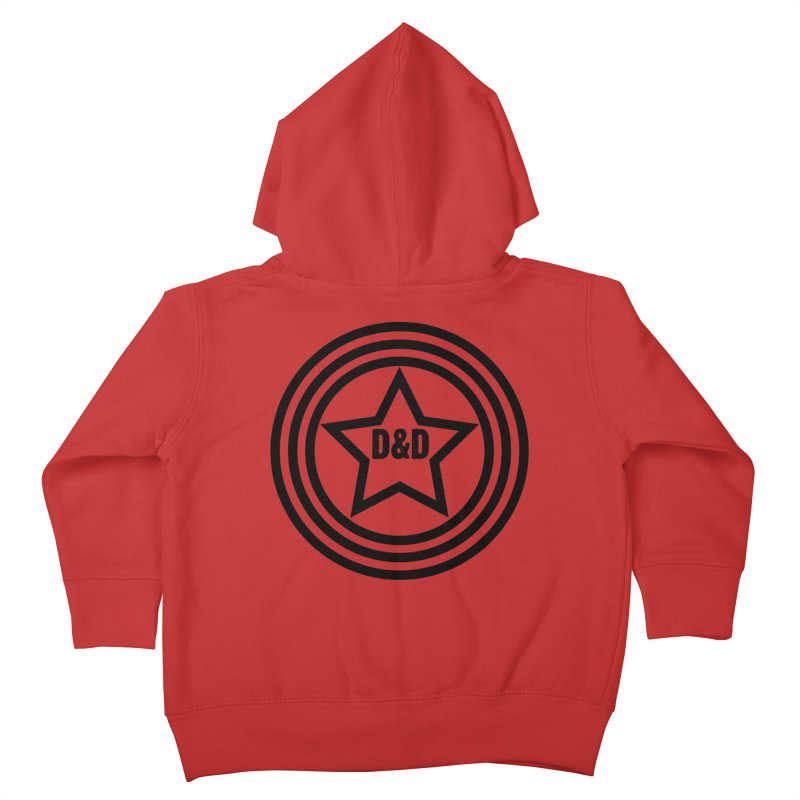 D&D - Dawn & Drew Star logo Kids Toddler Zip-Up Hoody by Drew's Barn Burner Shop