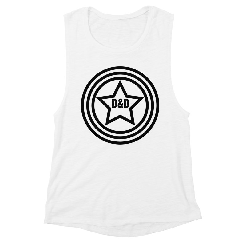 D&D - Dawn & Drew Star logo Women's Muscle Tank by Drew's Barn Burner Shop