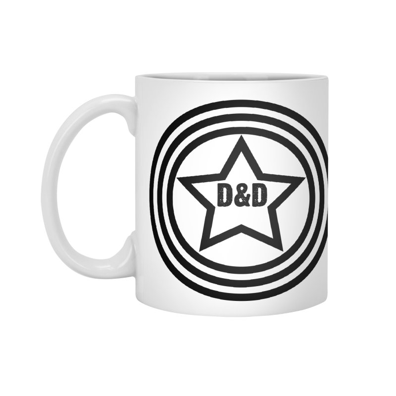 D&D - Dawn & Drew Star logo Accessories Mug by Drew's Barn Burner Shop