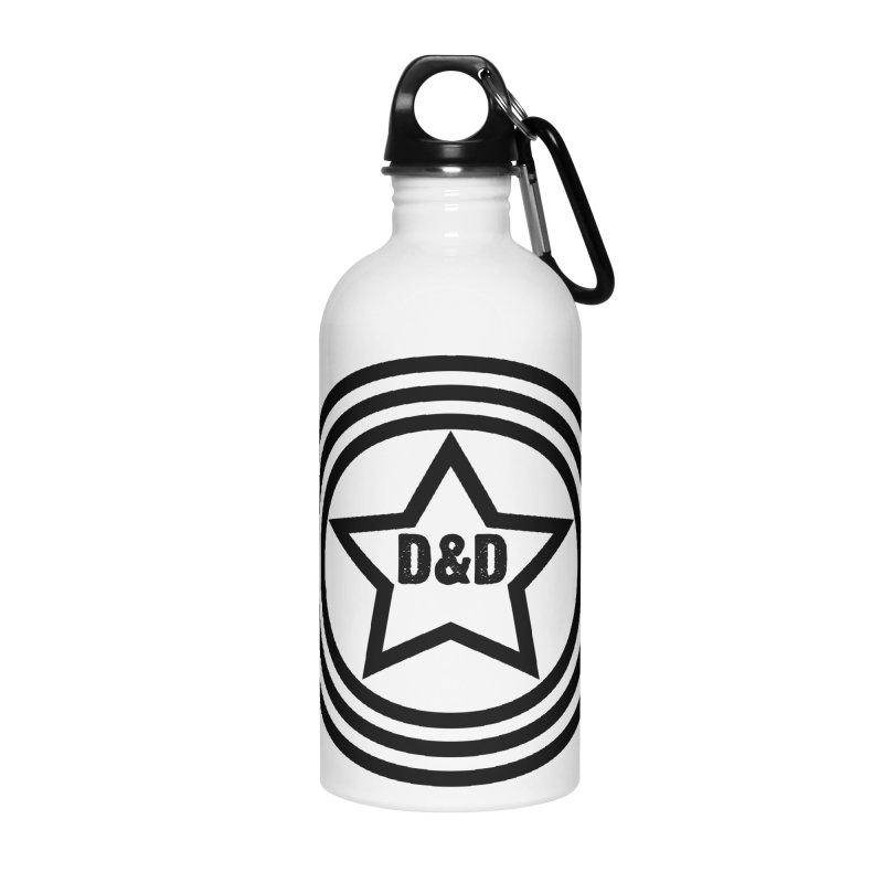 D&D - Dawn & Drew Star logo Accessories Water Bottle by Drew's Barn Burner Shop